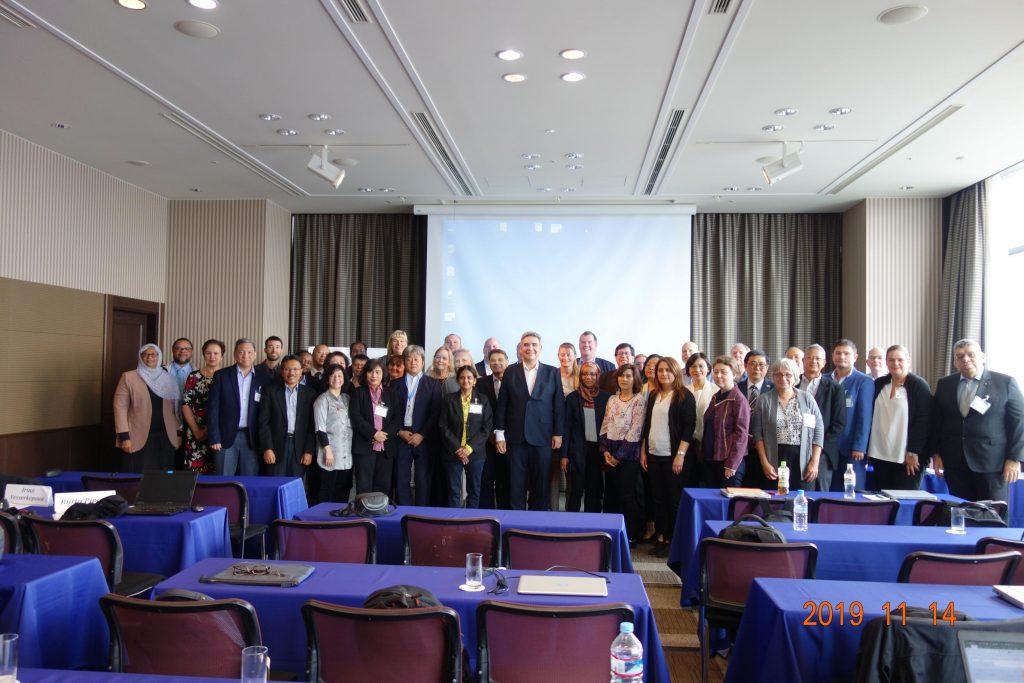 Эксперты ИГКЭ приняли участие в 17-м заседании Редакционной коллегии базы данных МГЭИК по коэффициентам выбросов парниковых газов, состоявшемся 11-14 ноября 2019 г. в г. Осака (Япония)